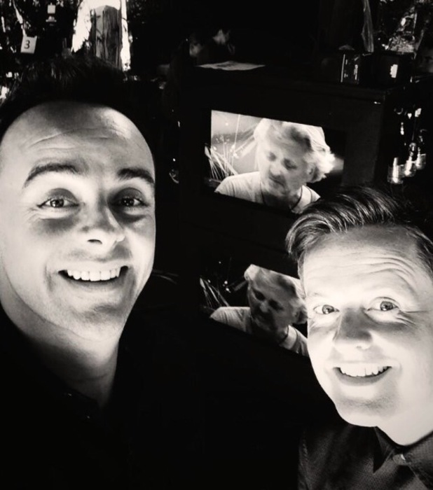 Ant and Dec share a final selfie from the I'm A Celebrity jungle - 9 December 2013