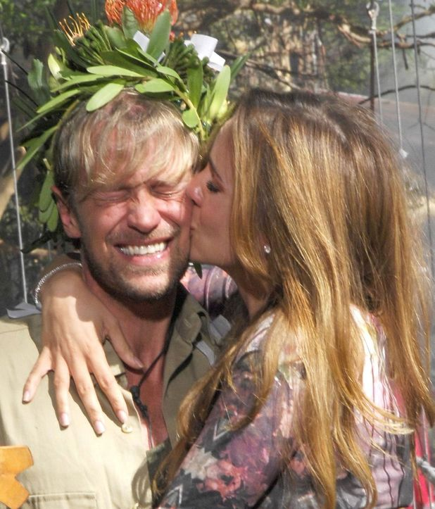 I'm A Celebrity Get Me Out Of Here' TV Programme, Australia - 09 Dec 2013 Winner Kian Egan and wife Jodi Albert at the 'Iacgmooh' jungle camp 9 Dec 2013