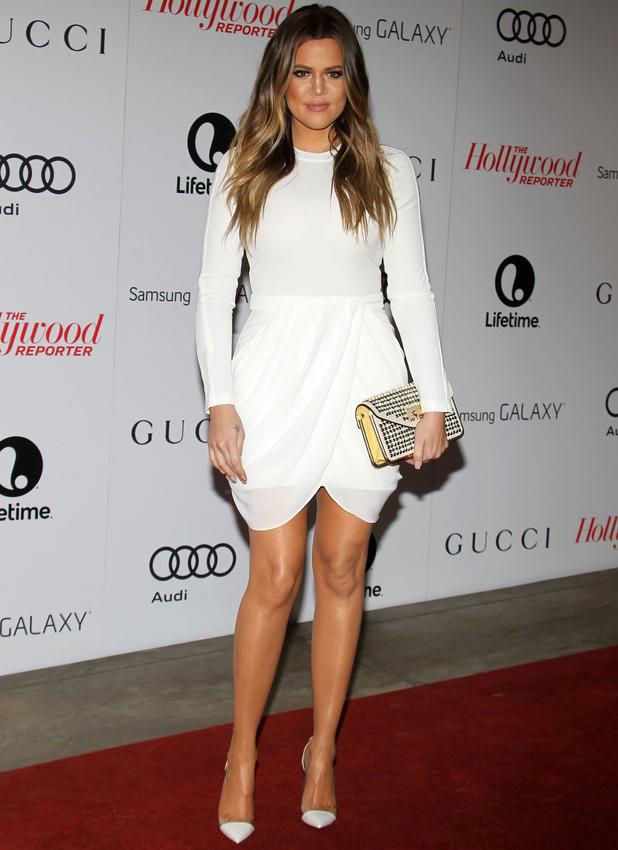 Khloe Kardashian attends The Hollywood Reporter's Women In Entertainment Breakfast Honoring Oprah Winfrey - 11 December 2013