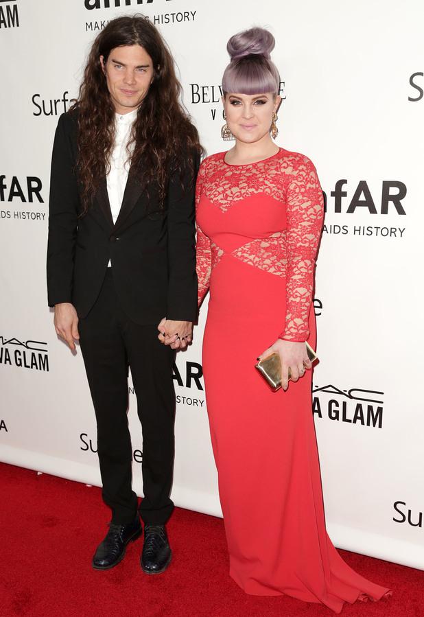 Matthew Mosshart and Kelly Osbourne at the 2013 amfAR Inspiration Gala 12/12/2013. Los Angeles, United States