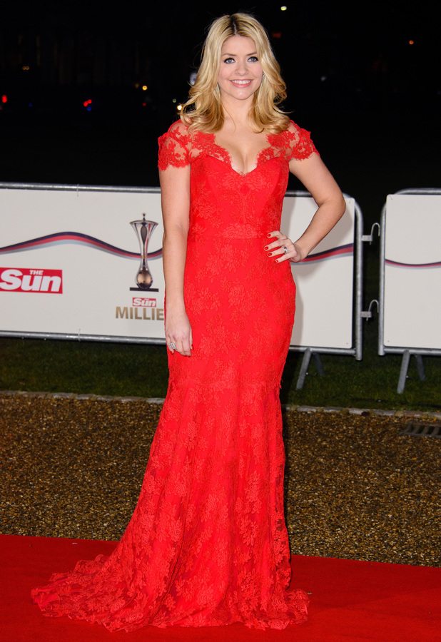 Holly Willoughby at The Sun Military Awards in London - 11 December 2013