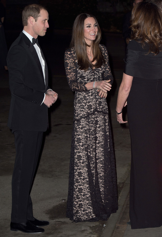 Kate Middleton and Prince William attend a screening of David Attenborough's Natural History Museum Alive 3D film at the Natural History Museum in London - 11 December 2013