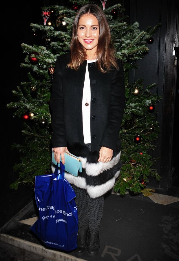 Louise Thompson at the Made In Chelsea launch at Raffles, Chelsea - 9 December 2013