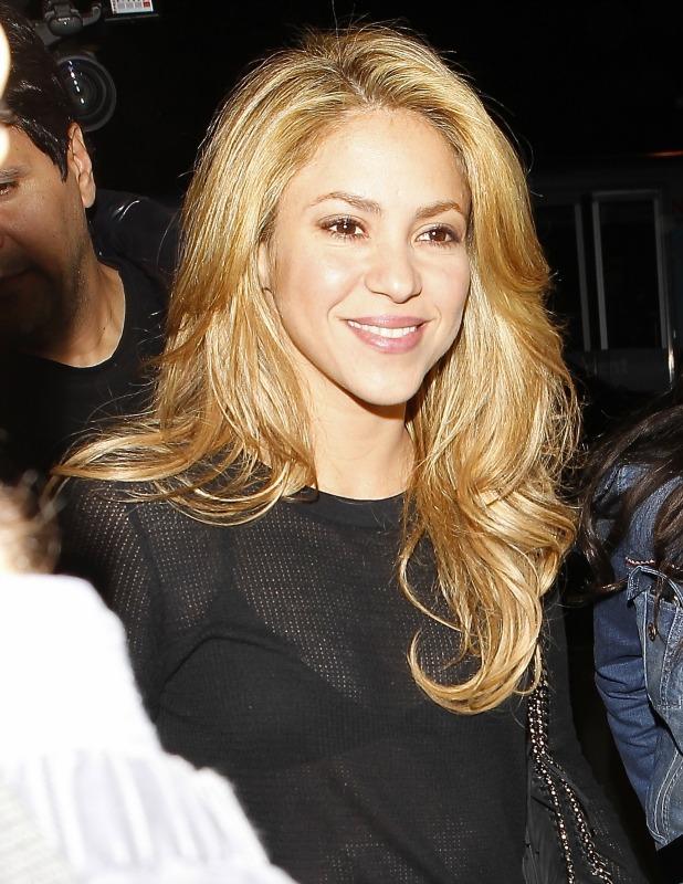 Shakira at LAX airport, 8 December 2013