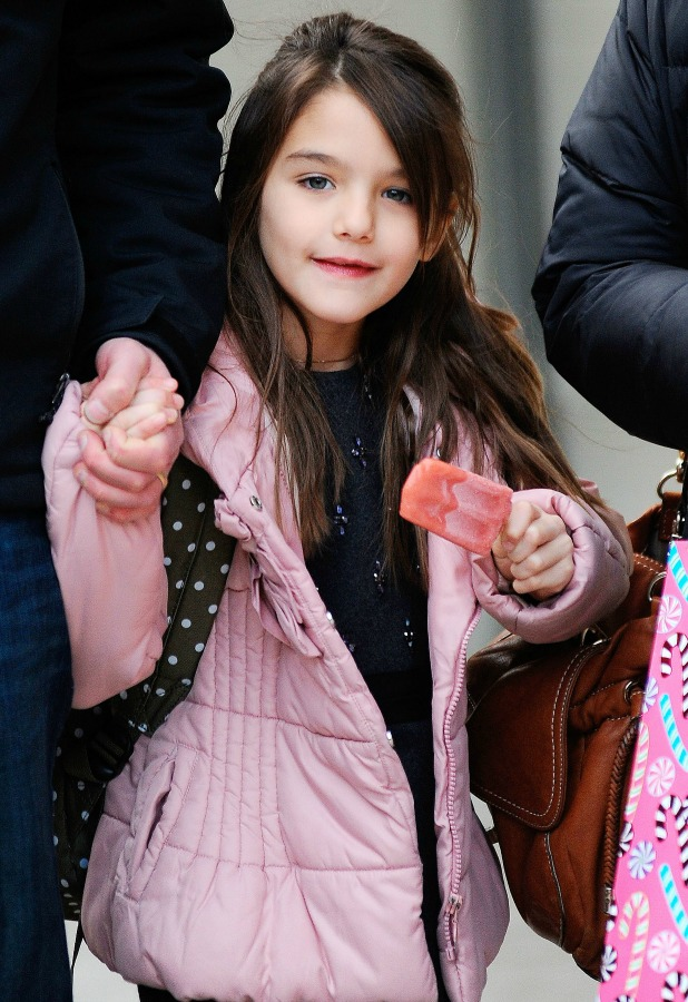 Suri Cruise out and about, New York, America - 11 Dec 2013