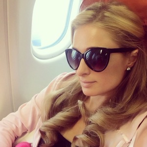 Paris Hilton arrives in Russia for a string of business meetings and personal appearances. (18 December).