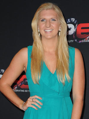 Rebecca Adlington at the BBC Sports Personality Of The Year 2013 held at the First Direct Arena - Arrivals