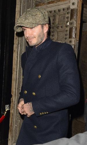 Celebrities at Chakana Club - David Beckham (19 December).