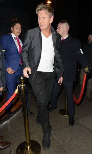 Celebrities at Chakana Club - Gordon Ramsay (19 December).