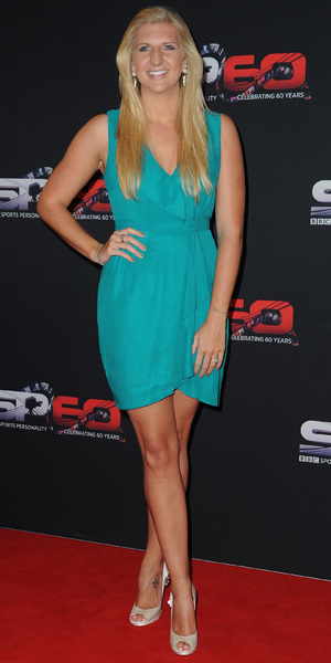 Rebecca Adlington - BBC Sports Personality Of The Year 2013 held at the First Direct Arena - Arrivals - 15 December 2013