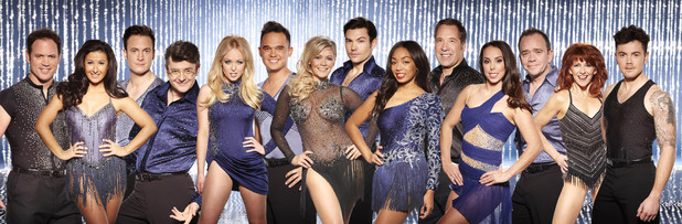 Dancing On Ice 2014: group photo