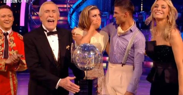 Abbey Clancy, Aljaz Skorjanec win Strictly Come Dancing 2013