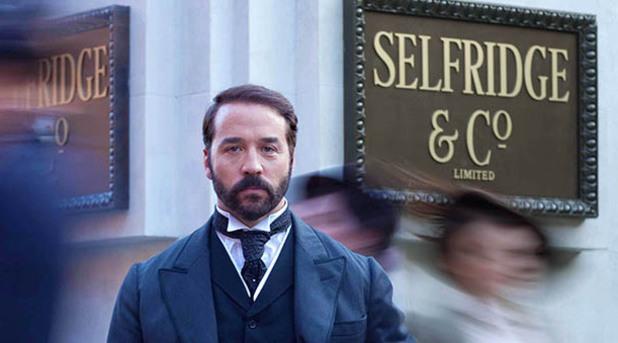 ITV period drama, Mr Selfridge starring Jeremy Piven