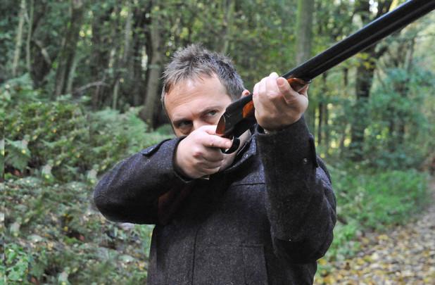 Emmerdale, Declan has a shotgun, Fri 20 Dec