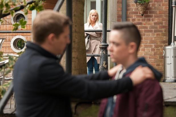 Hollyoaks, Diane sees John Paul and Finn, Fri 3 Jan