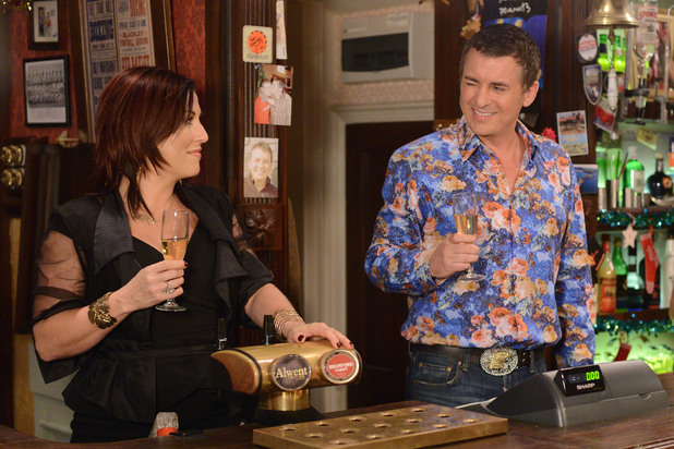 EastEnders, Alfie and Kat's last day at The Vic, Tue 24 Dec