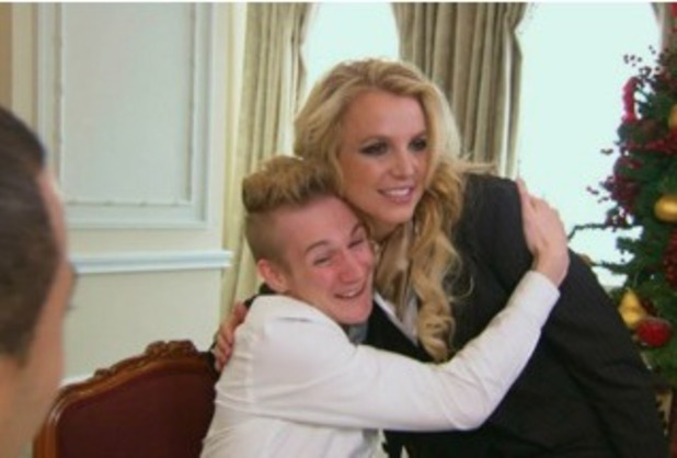 Britney Spears appears on ITV's Surprise Surprise Christmas Special - December 2013