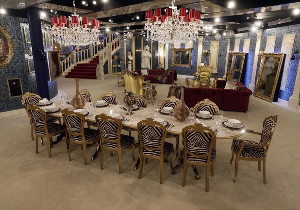 Celebrity Big Brother 2012 - new house pictures revealed. Living room.