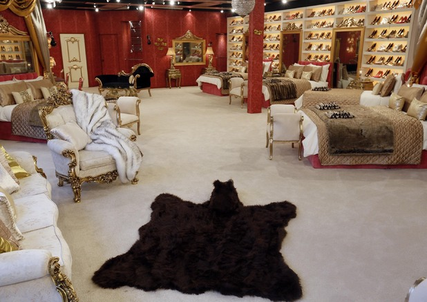 Celebrity Big Brother 2012 - new house pictures revealed. Bedroom.