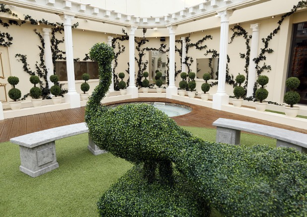 Celebrity Big Brother 2012 - new house pictures revealed. Garden