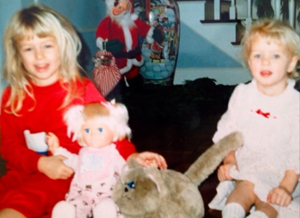 Paris Hilton shares 'throwback' pictures of past Christmases with her family, 20 December 2013