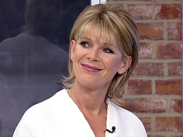 Ruth Langsford takes part in 'Take Over The Make Over' on 'This Morning' Shown on ITV1 HD - February 2013