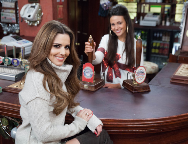 Cheryl Cole joins Michelle Keegan and Coronation Street cast for Text Santa episode - 17 December 2013
