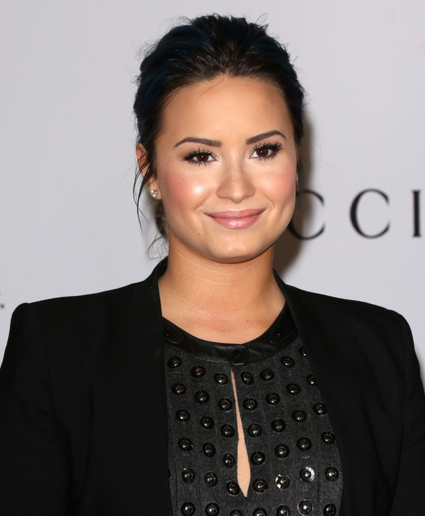 Demi Lovato at The Hollywood Reporter's Women In Entertainment Breakfast Honoring Oprah Winfrey At Beverly Hills Hotel. 11/12/2013