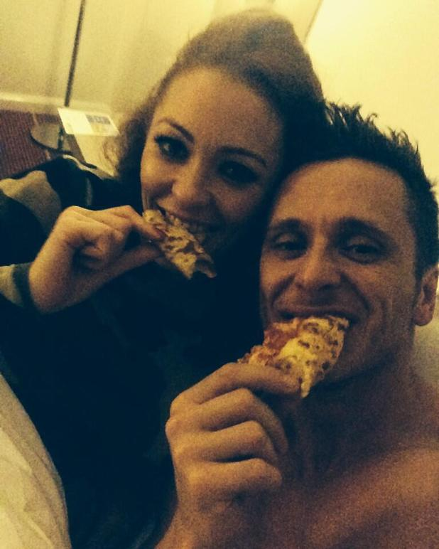 Big Reunion's Natasha Hamilton and Ritchie Neville in bed after Big Reunion final show - 15 Dec 2013