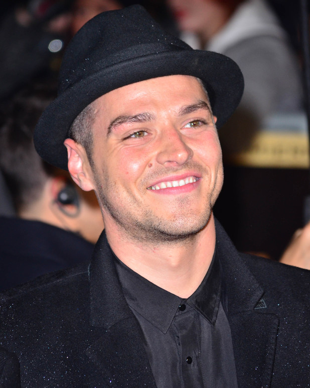 Matt Willis - The world premiere of 'The Hunger Games: Catching Fire' held at the Odeon Leicester Square - Arrivals - 11/11/13
