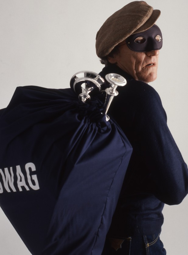 Various Model released - Robber with 'swag' bag 1990s
