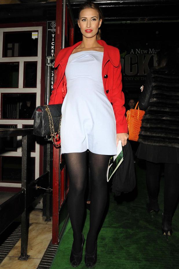 'Wicked' musical, London, Britain - 19 Dec 2013 Ferne McCann