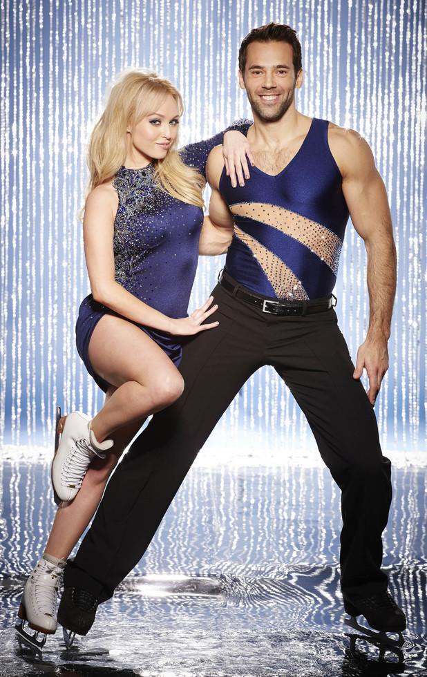 Dancing On Ice 2014: Jorgie Porter and Sylvain Longchambon (previously Matt Evers)