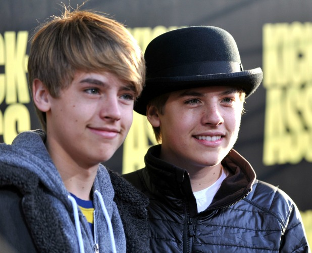 Cole Sprouse and Dylan Sprouse, Kick-Ass premiere held at the Cineramadome theatre Los Angeles, California - 13.04.10