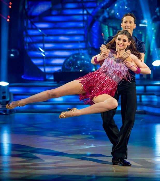 Sophie Ellis-Bextor, Brendan Cole on Strictly Come Dancing 2013 final, 21 December 2013