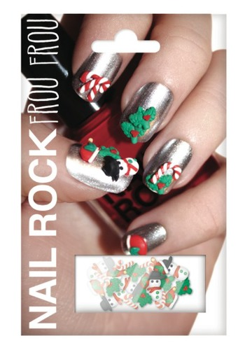 Nail Rock Frou Frou Holiday