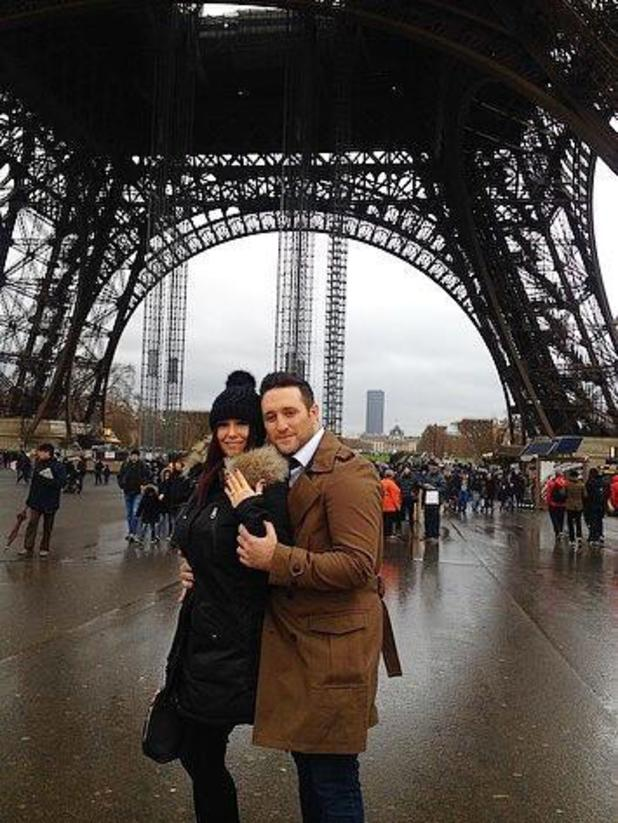 Antony Costa gets engaged to girlfriend Rosanna Jasmin in Paris - 23 December 2013