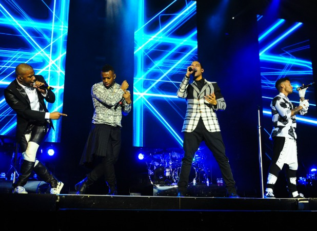 JLS perfrom their last gig at the 02 Arena, 22 December 2013