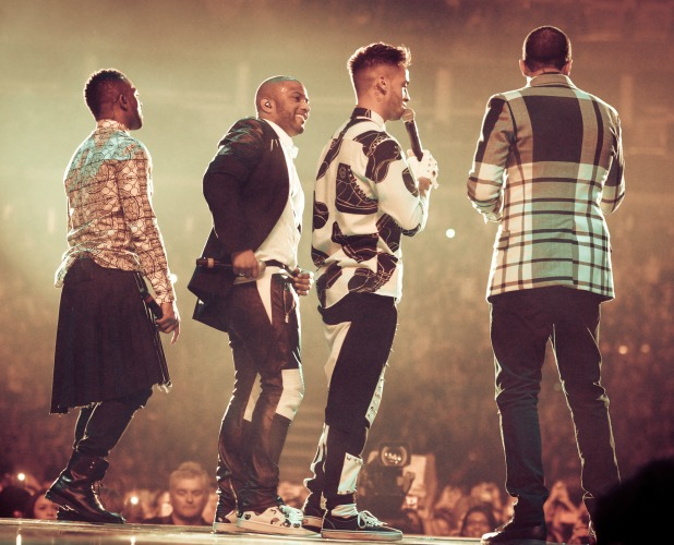 JLS perfrom their last gig at the 02 Arena, 21 December 2013