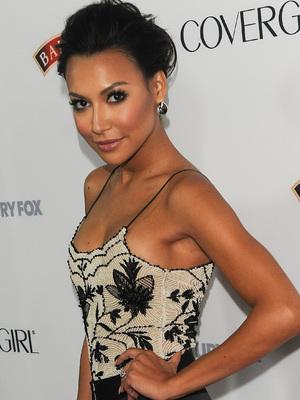 Naya Rivera, Latina Magazine's Hollywood Hot List Party, 4 October 2013