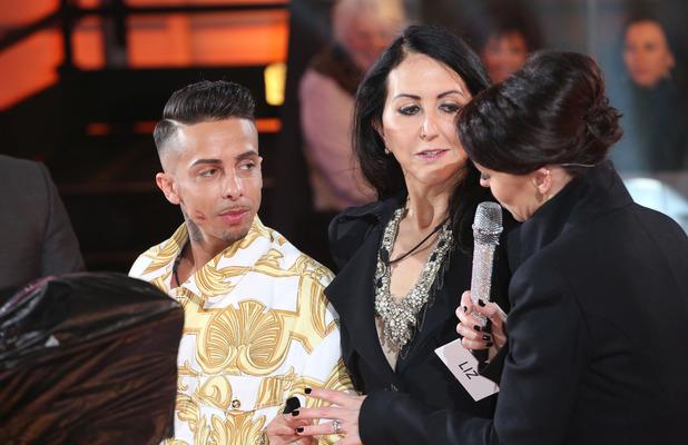 Celebrity Big Brother launch 2014, Dappy and Liz Jones