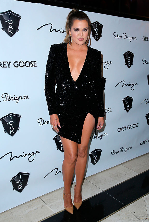 Khloe Kardashian Hosts a 1 Oak Nightclub Inside The Mirage Hotel and Casino Las Vegas, 30 December 2014