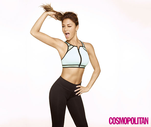 Nicole Scherzinger is the cover star for Cosmopolitan Body, Cosmopolitan's health and fitness magazine (on sale 31st December)