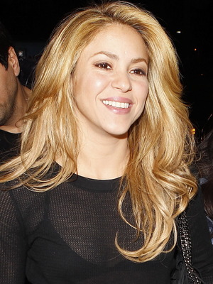 Shakira at Los Angeles International Airport 12/08/2013. Los Angeles, United States.