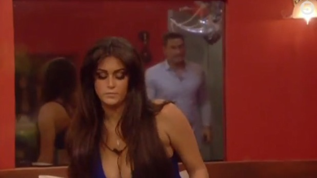 Celebrity Big Brother - January 2014 - Lee Ryan and Casey Batchelor argue in the Bolt Hole.