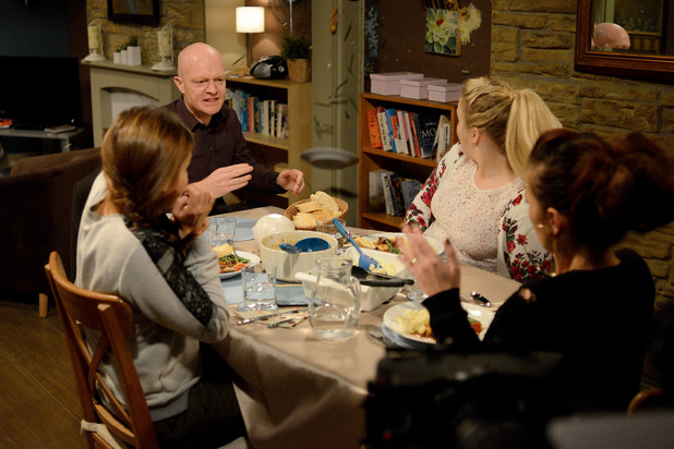 EastEnders, Max angry with Kirsty, Wed 8 Jan