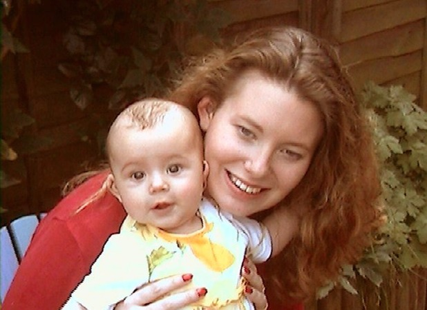 Kate could just make out Phoebe when she was born