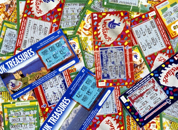Dave has thousands of unchecked scratchcards