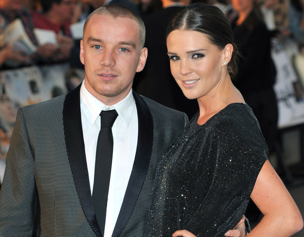Danielle Lloyd and Jamie O'hara 'Charlie St. Cloud' - UK film premiere held at the Empire Leicester Square. London, England - 16.09.10