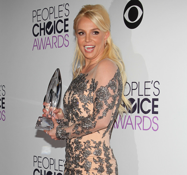 The 40th Annual People's Choice Awards at Nokia LA Live - 8.1.2014 Britney Spears